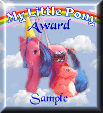 My Little Pony Award